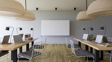 כיצד לנצל חללי עבודה משותפים וחדרי ישיבות